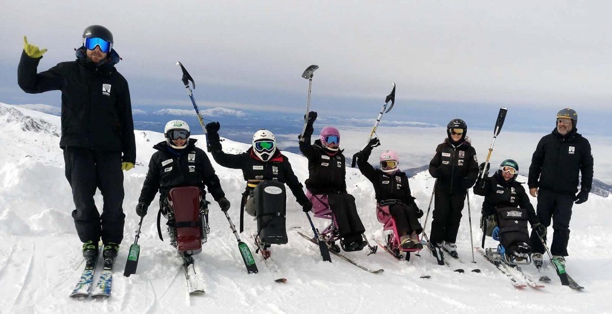 Equipo de Competición de Esquí Alpino Adaptado de la Fundación También