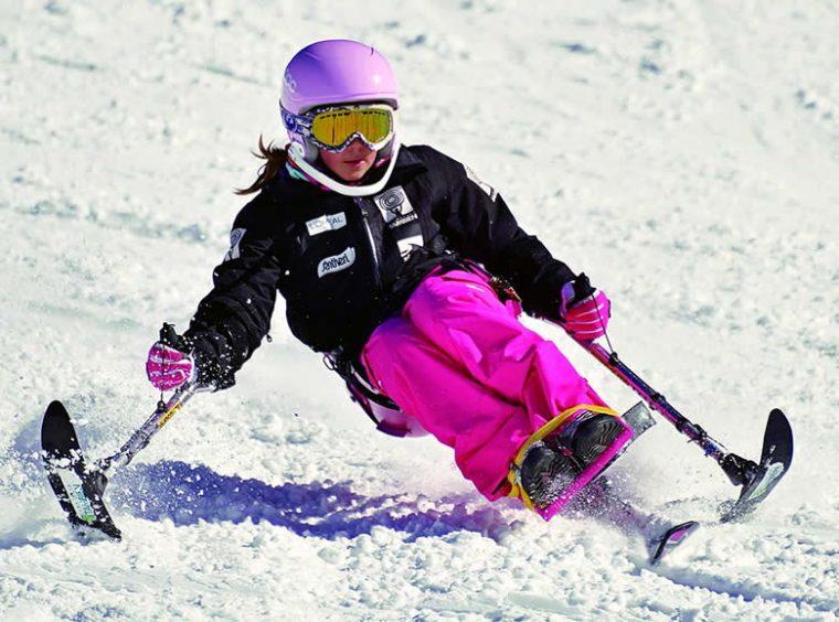 Promesas del Equipo de Competición de Esquí Alpino Adaptado de la Fundación También