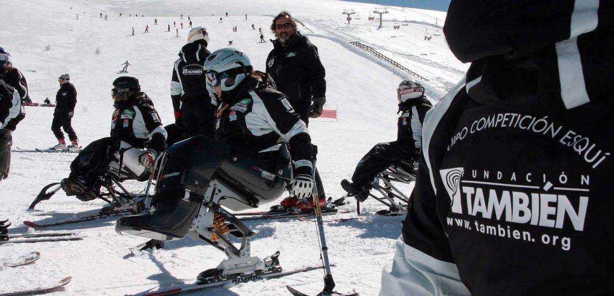 Equipo de Competición de Esquí Adaptado de la Fundación También
