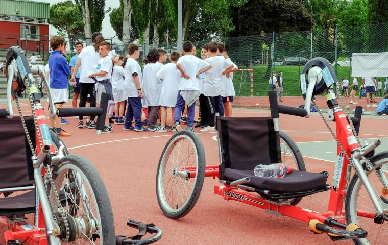 6º Juegos Inclusivos Escolares organizados por Fundación También, Fundación Sanitas y la Cátedra de Estudios sobre Deporte Inclusivo (CEDI)
