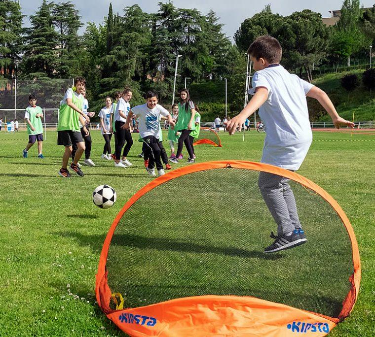 6º Juegos Inclusivos Escolares organizados Fundación También y la Cátedra Fundación Sanitas de Estudios sobre Deporte Inclusivo (CEDI), con la colaboración de la Comunidad de Madrid y de Fundación Sanitas.
