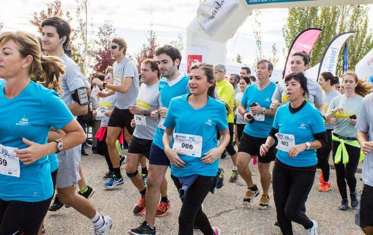 Salida de la Carrera Popular Madrid También Solidario