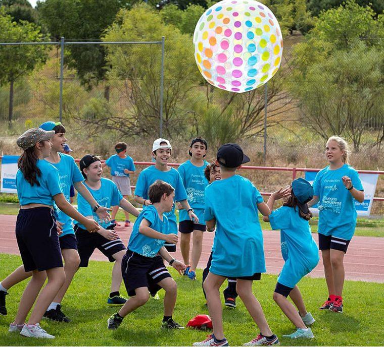 Participantes de la 8ª Edición de los Juegos Inclusivos Escolares