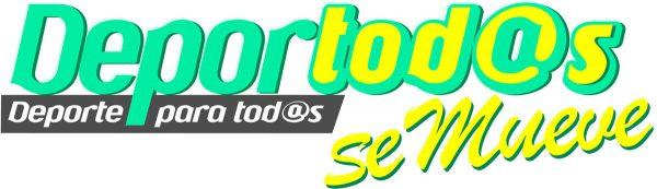 Logotipo del programa Deportod@ se Mueve
