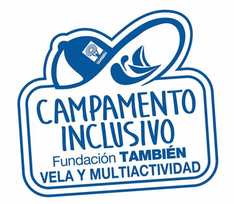 Logotipo Campamento urbano inclusivo Fundación También 2019