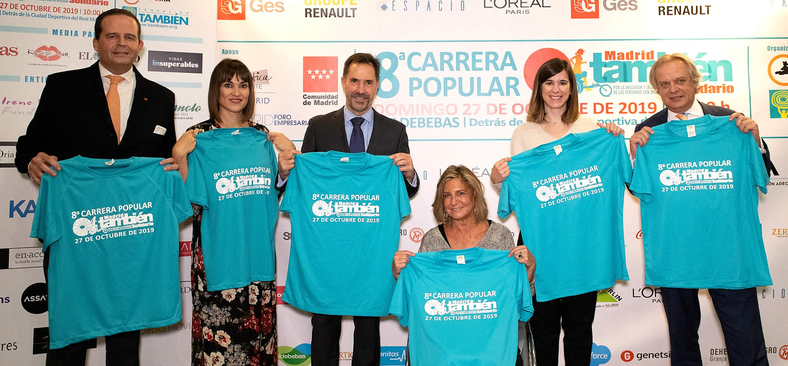 Presentación de la 8ª Carrera Popular Madrid También Solidario