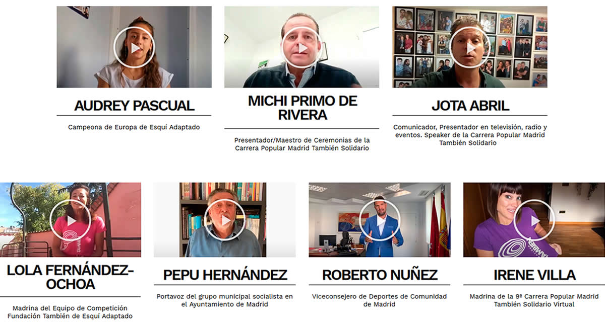 Importantes deportistas, políticos y personalidades de renombre de la vida pública animaron a la participación y se convertieron en motores para la movilización en la carrera más solidaria de España