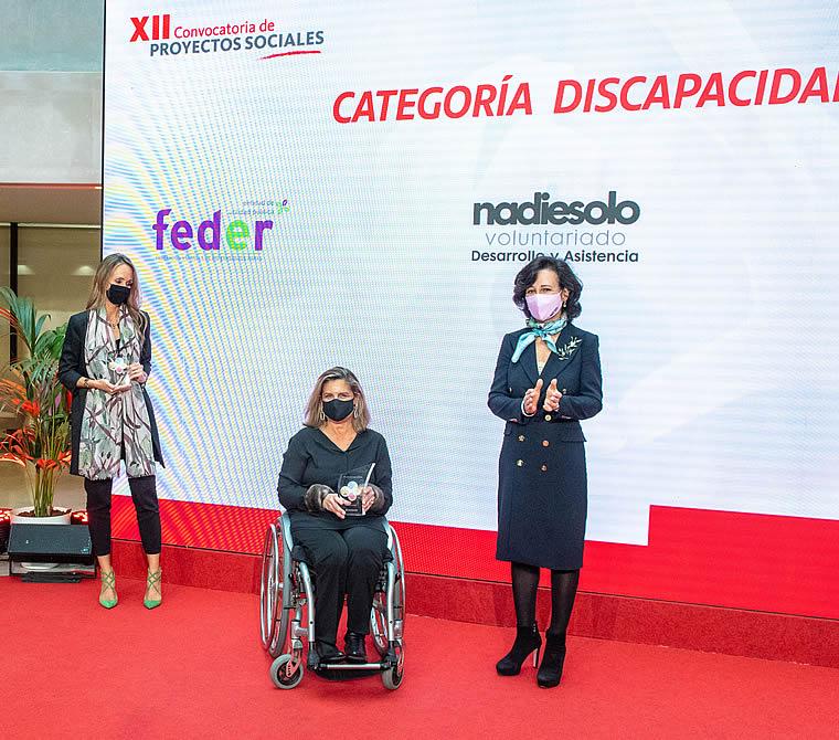 """Fundación También, galardonada en la XII Convocatoria de Proyectos Sociales """"Euros de tu Nómina"""" Santander"""