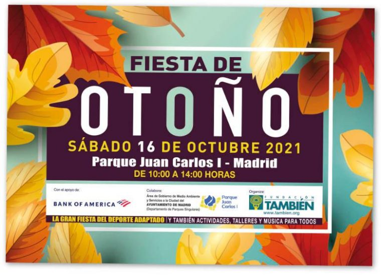 Fiesta de Otoño de la Fundación También. Sábado 16 de octubre de 2021