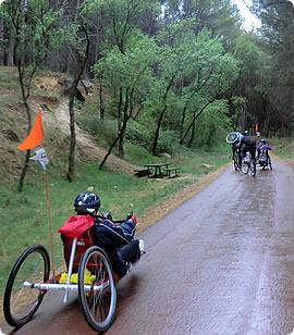 Senderismo y ciclismo adaptado por paisajes únicos. Vías Verdes y Pecuarias.