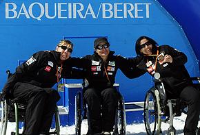 El Equipo de Esquí Alpino Adaptado de la Fundación También acaba la temporada con veintidós medallas